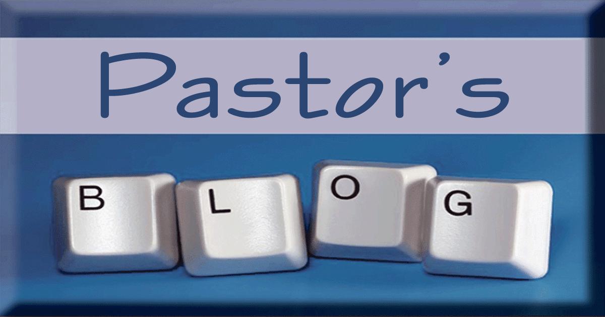 pastor's blog