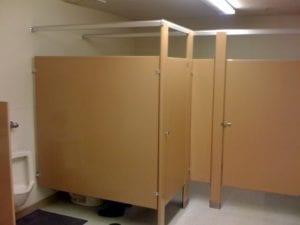 Two-Stall Bathroom