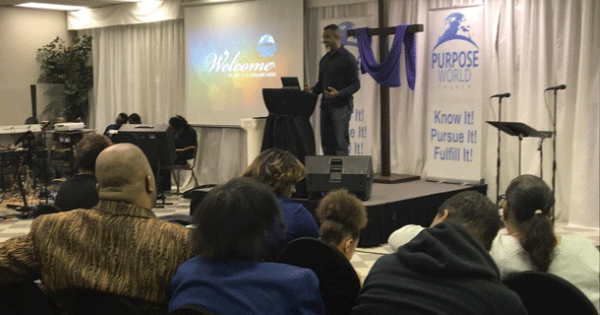 Purpose World Church interior
